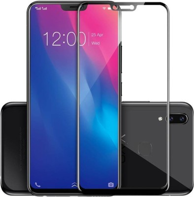 Ultra Clear Edge To Edge Tempered Glass for VIVO V9 YOUTH (5D Tempered Glass)(Full Glue)(Pack of 1)