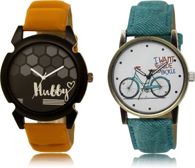 Woxen New Casual And Formal Stylish Attractive Analogue Combo-LR-13-229-COMBO Watch  - For Boys & Girls