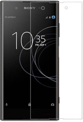 BIZBEEtech Tempered Glass Guard for Sony Xperia XA1 Plus(Pack of 1)