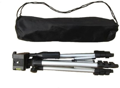 Spring Jump 3110 Mobile Tripod with mobile holder Tripod(Silver, Supports Up to 1500 g) 1