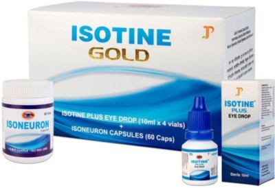 Isotine ISOTINE GOLD Eye Drops (10 ml) Eye Drops(4 g)