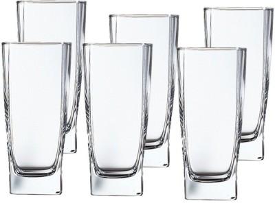 LUMINARC Sterling HighBall Glass Set of 6 - 330 ml Glass Set(Glass, 330, Clear, Pack of 6)