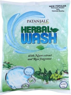 PATANJALI Herbal Wash Detergent Powder 2 kg