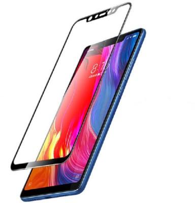 capnicks Edge To Edge Tempered Glass for Xiaomi Redmi MI Note 6 Pro 6D (Black)