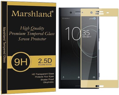 Marshland Tempered Glass Guard for 9H Hardness 3D Curved Edge Anti Scratch Oleo Phobic Coating Anti-Bubble, Sony Xperia 10 Plus(Pack of 1)