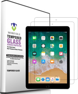 MOBIVIILE Tempered Glass Guard for Apple iPad Pro 10.5 inch(Pack of 2)