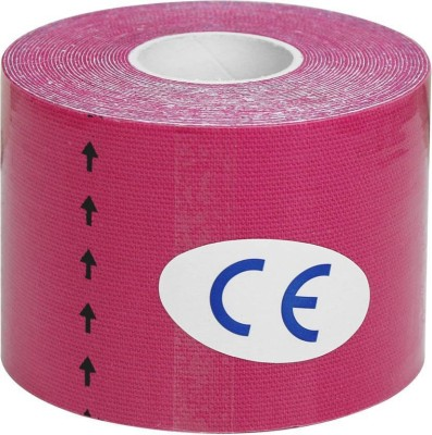DoctorTech India Kinesiology Tape Knee, Calf & Thigh Support (Free Size, Pink) Knee, Calf & Thigh Support(Pink)