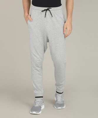 REEBOK Solid Men Grey Track Pants at flipkart