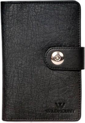 WILDMOuNT PASSPORT HOLDER WITH SIM CARD SAFE CASE & SIM CARD JACKETS(Black)