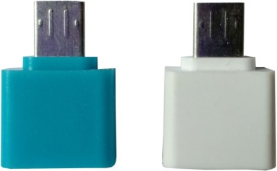 FLMAS small otg cable 01 USB Adapter(Multicolor)  available at flipkart for Rs.199