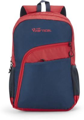 The Vertical SLANT 25 L Laptop Backpack Red, Blue