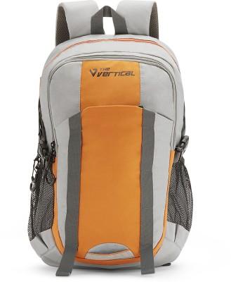 The Vertical VOYAGE 27 L Laptop Backpack Orange, Grey The Vertical Backpacks