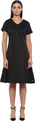 Park Avenue Women Sheath Black Dress