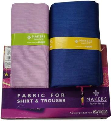 Raymond Poly Viscose Printed Shirt & Trouser Fabric(Unstitched)