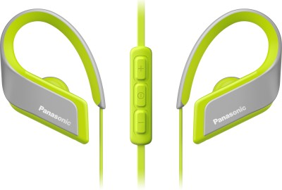 Panasonic RP-BTS35E-Y Wired Headset(Yellow, Wired in the ear)