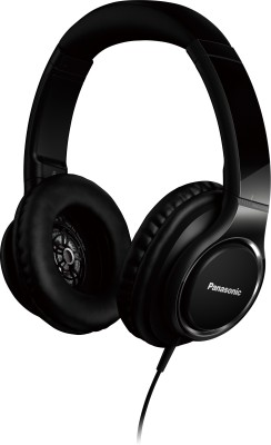 Panasonic RP-HD5E-K Wired Headphone(Black, Over the Ear)