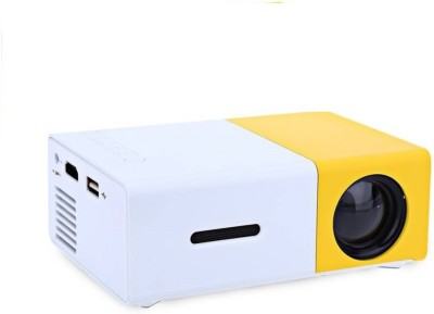 Zeom YG300 LCD Mini Projector LED Projector 400 lm Other Support 1080P (1920x1080) 20-120 inch Screen / QVGA (320x240) / ±15° Portable Projector(Yellow, White) Portable Projector(White)