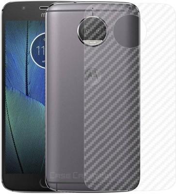 Case Creation Back Screen Guard for Motorola Moto G5S+(Pack of 1)