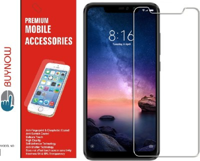 Buynow Tempered Glass Guard for Mi Redmi Note 6 Pro, Mi Redmi Note 6 Pro, Mi Redmi Note 6 Pro(Pack of 1)