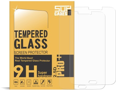 SupCares Tempered Glass Guard for Samsung Galaxy Tab 3 T211(Pack of 2)