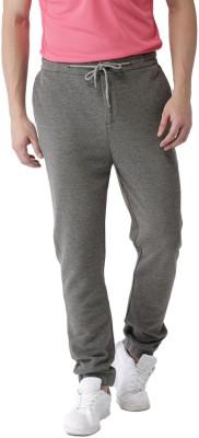 Mast & Harbour Solid Men Grey Track Pants at flipkart