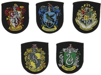 Cinereplicas Harry Potter Patch Set - Applique Patches Crest - Official - (Classic Set Of 5)