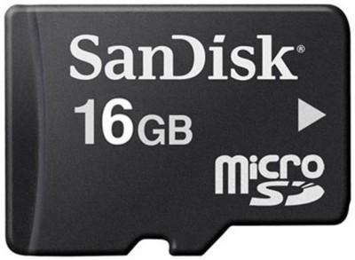 SanDisk Memory Card 16 GB MicroSD Card Class 10 24 MB/s  Memory Card