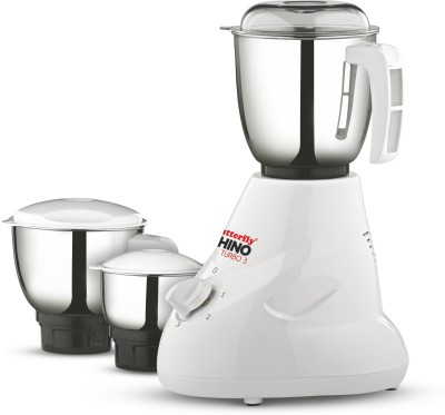 Butterfly Rhino-Turbo3-3j2 750 Juicer Mixer Grinder(Multicolor, 3 Jars)