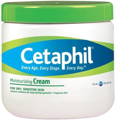 Cetaphil Moisturizing Cream for Dry, Sensitive Skin, Fragrance Free(565 g)