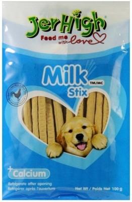 Goofy Tails JerHigh Calcium Milk Dog Treat (100g, Pack of 4) Milk Dog Treat(100 g, Pack of 4)