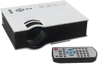 Zeom UC 40 Projector 1800 Lumens small size Projector Portable Projector(White) Portable Projector(White)