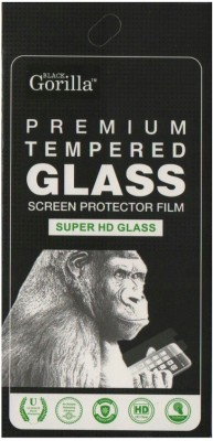 BLACK GORILLA Tempered Glass Guard for MICROMAX CANVAS ENTICE A105