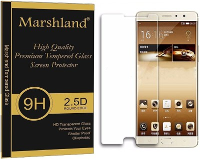 Morya Enterprises Tempered Glass Guard for Gionee M6 Plus(Pack of 1)