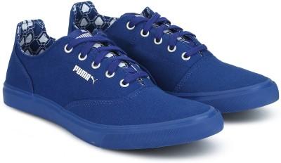 Puma Pop X IDP Canvas Shoes For Men(Blue)