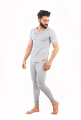 Yorker Grey Half Sleeves Thermal Men