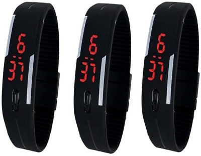 Fashion Gateway LED Digital band watch PK-149 (for all age group) Digital Watch  - For Boys & Girls