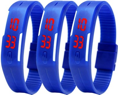Fashion Gateway LED Digital band watch PK-157 (for all age group) Digital Watch  - For Boys & Girls