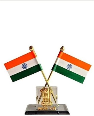 TIMEMORE Indian flag Double Sided Wind Car Dashboard Flag Flag(Nylon)