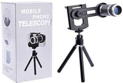 CALLIE Universal 8X Zoom Telescope Camera + Adjustable Holder Mobile Phone Lens(Polarizer)