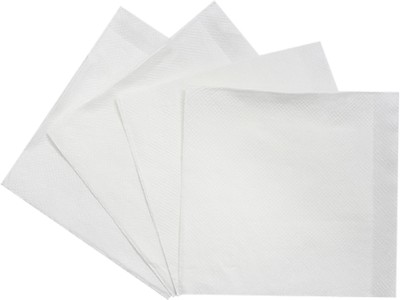 Handicraft Tem-018 White Napkins(4 Sheets)