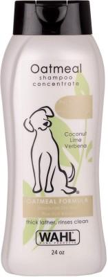 Wahl Oatmeal Shampoo, Coconut lime verbena Hypoallergenic, Anti-microbial, Anti-fungal, Anti-itching Coconut lime verbena Dog Shampoo(710 ml)