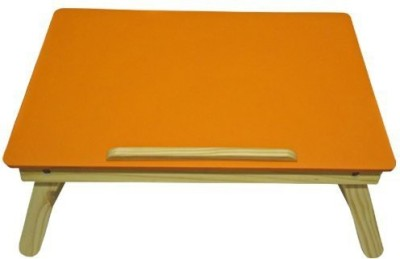 IBS lapdesk Foldable Wood Portable Laptop Table(Finish Color - ORANGE)