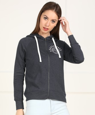 Aeropostale Full Sleeve Solid Women Sweatshirt at flipkart