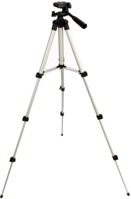 Cellworld 3Way Head Mobile Phone Camera Stand Holder Tripod Kit Tripod, Tripod Kit(Multicolor, Supports Up to 1000 g)