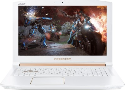 Acer Predator Helios 300 Core i7 8th Gen - (16 GB/1 TB HDD/256 GB SSD/Windows 10 Home/6 GB Graphics) PH315-51-79Y7 Gaming Laptop(15.6 inch, Pear White, 2.7 kg) 1