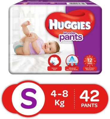 Huggies Wonder Pants S Diapers (42 Pieces)