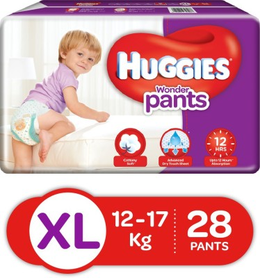 Huggies Wonder Pant Style XL Diapers (28 Pieces)