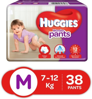 Huggies Wonder Pants diapers   M 38 Pieces