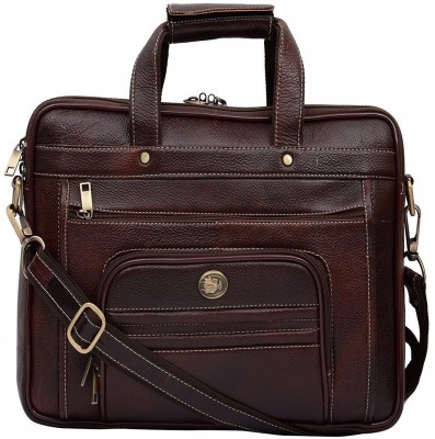 Hileder 14 inch Laptop Messenger Bag Brown