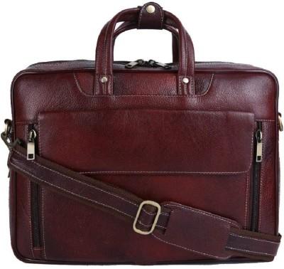 Hileder 14 inch Laptop Messenger Bag Brown Hileder Laptop Bags